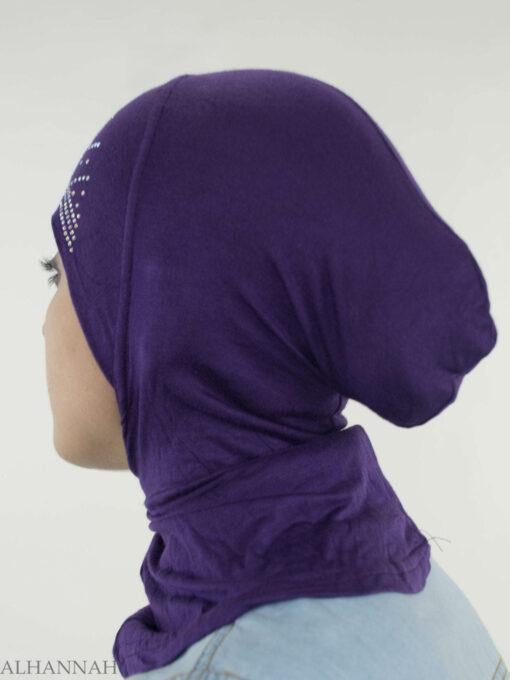 One Piece Rhinestone Al-Amira Sports Hijab HI2132 (1)