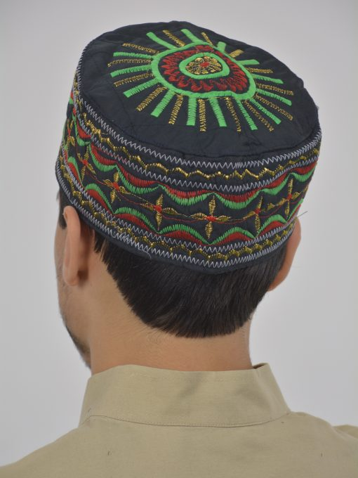 Sunray Embroidered Kufi ME738 (2)