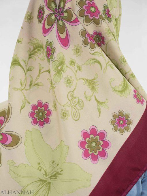 Blooming Lily Square Hijab HI2145 (4)