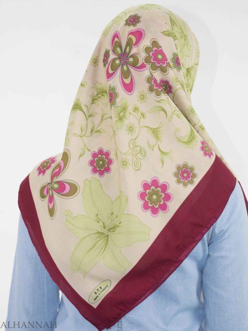 Blooming Lily Square Hijab HI2145 (5)