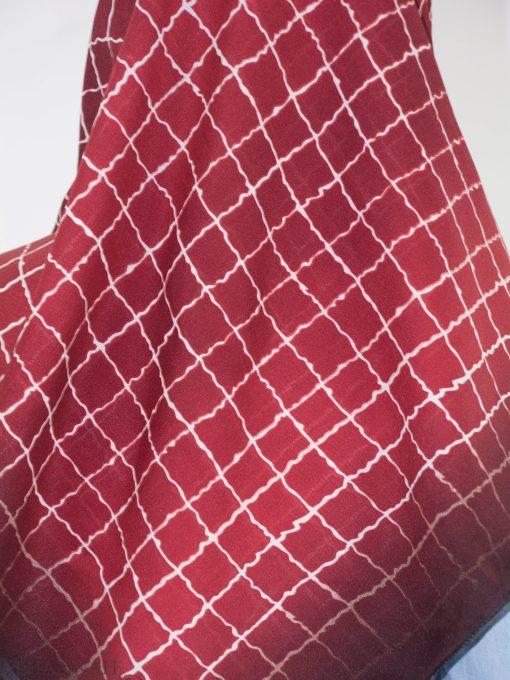 Checkered Square Hijab HI2149 (3)