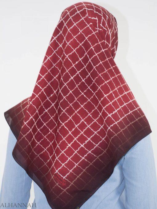 Checkered Square Hijab HI2149 (4)