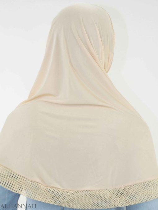 Crochet Rhinestone One-Piece Al-Amira Hijab HI2138 (12)