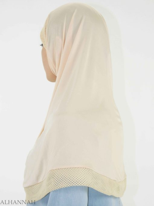 Crochet Rhinestone One-Piece Al-Amira Hijab HI2138 (3)