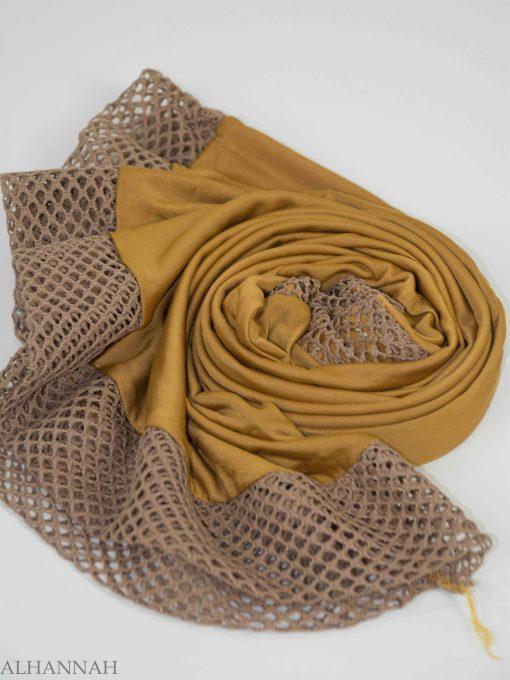 Crochet Rhinestone One-Piece Al-Amira Hijab HI2138 (5)
