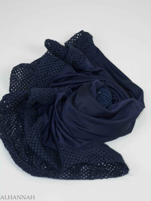 Crochet Rhinestone One-Piece Al-Amira Hijab HI2138 (7)