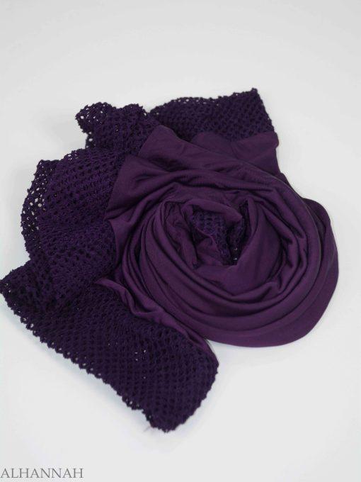 Crochet Rhinestone One-Piece Al-Amira Hijab HI2138 (9)