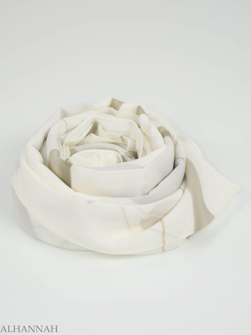 Looped Floral Square Hijab HI2151 (10)