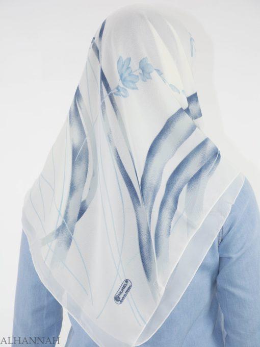 Looped Floral Square Hijab HI2151 (4)