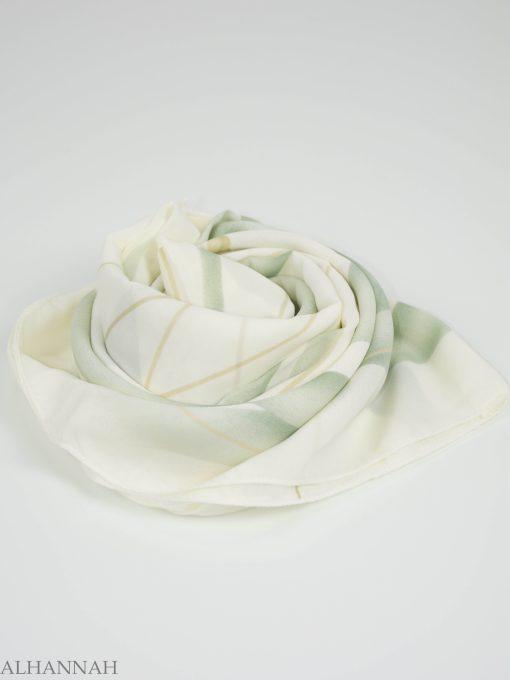 Looped Floral Square Hijab HI2151 (6)