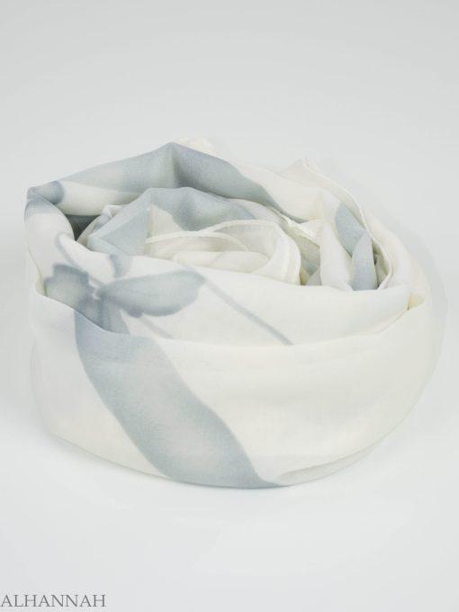 Looped Floral Square Hijab HI2151 (9)