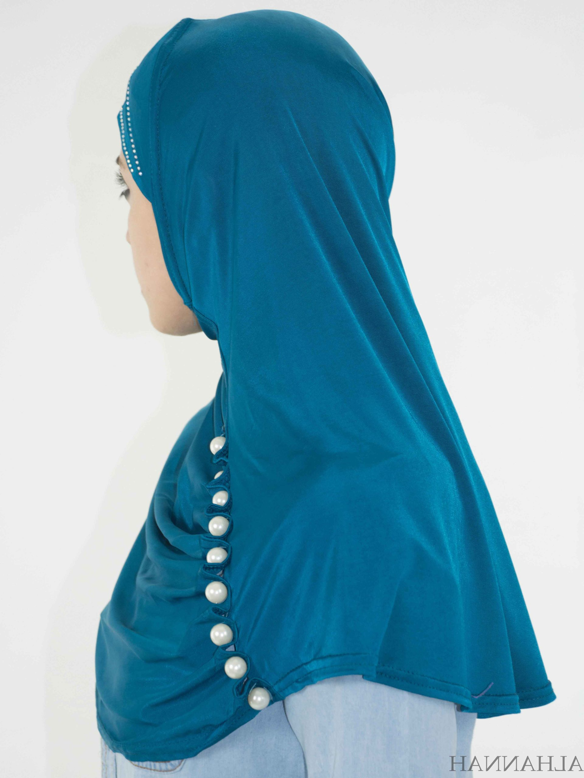 Pearled One-Piece Al-Amira Hijab HI2134 (44)
