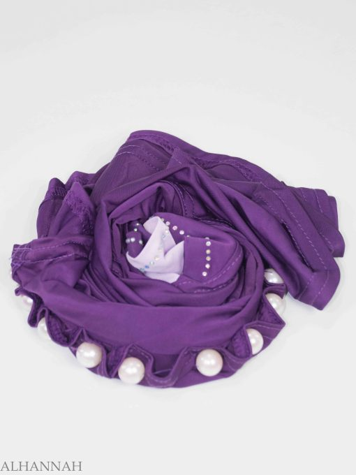 Pearled One-Piece Al-Amira Hijab HI2134 (8)