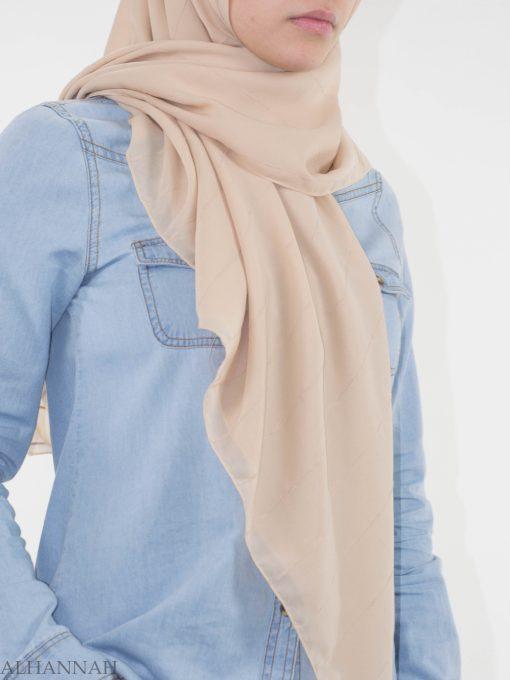 Pleated Square Hijab HI2147 (1)