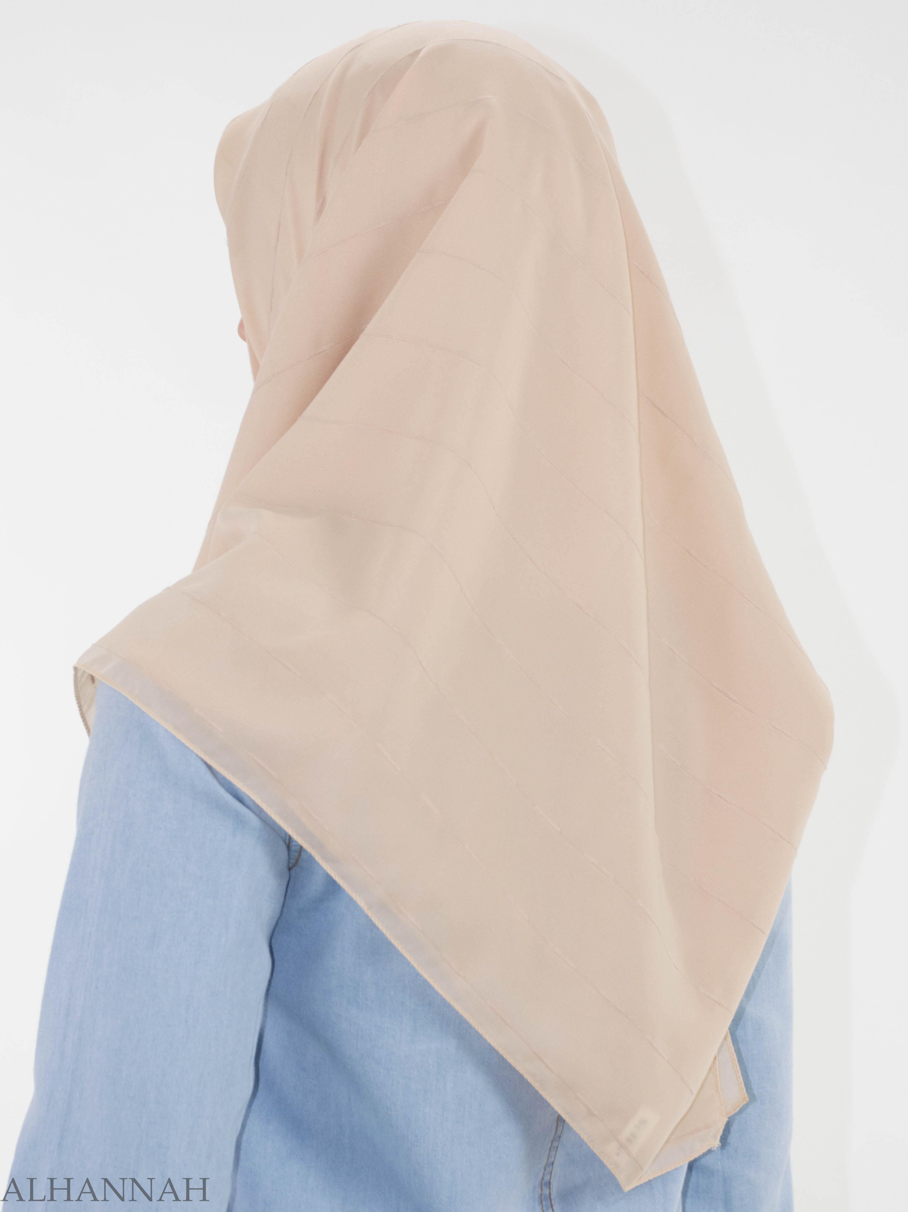 Pleated Square Hijab HI2147 (2)