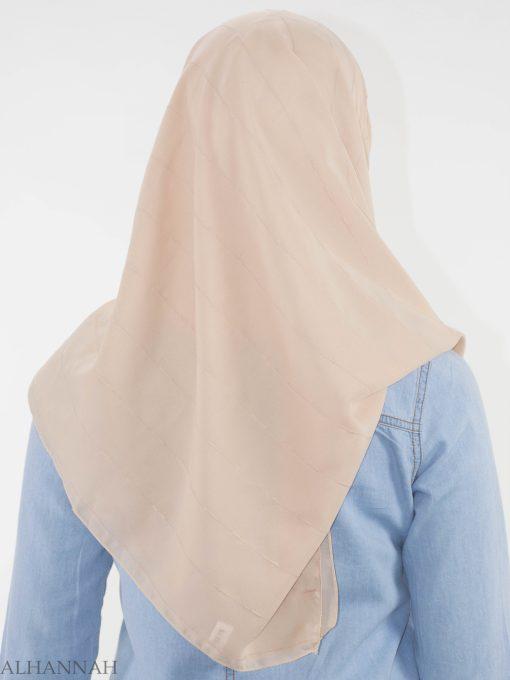 Pleated Square Hijab HI2147 (3)