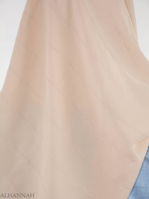 Pleated Square Hijab HI2147 (4)