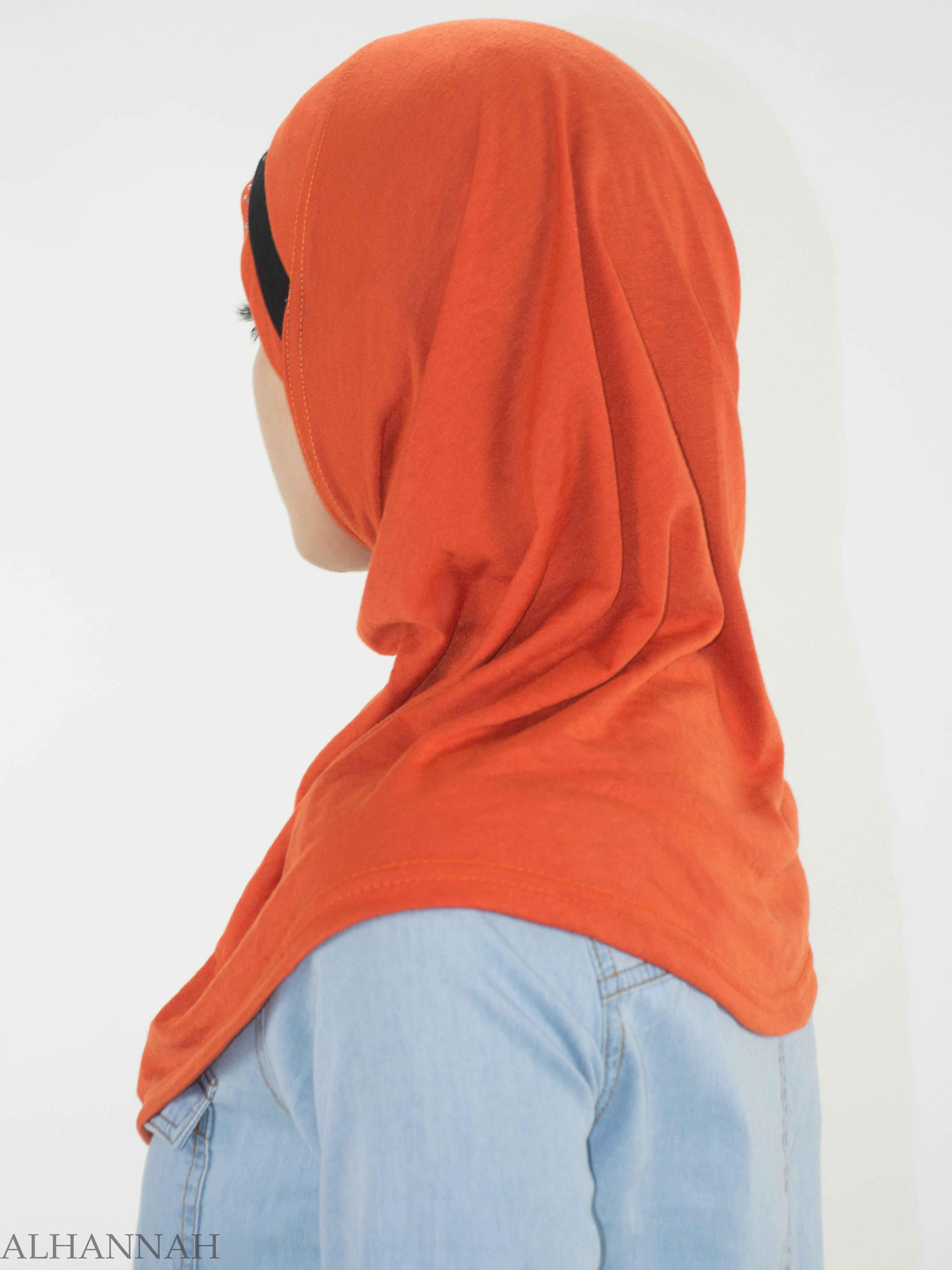 Rhinestone Striped One-Piece Al-Amira Hijab HI2135 (3)