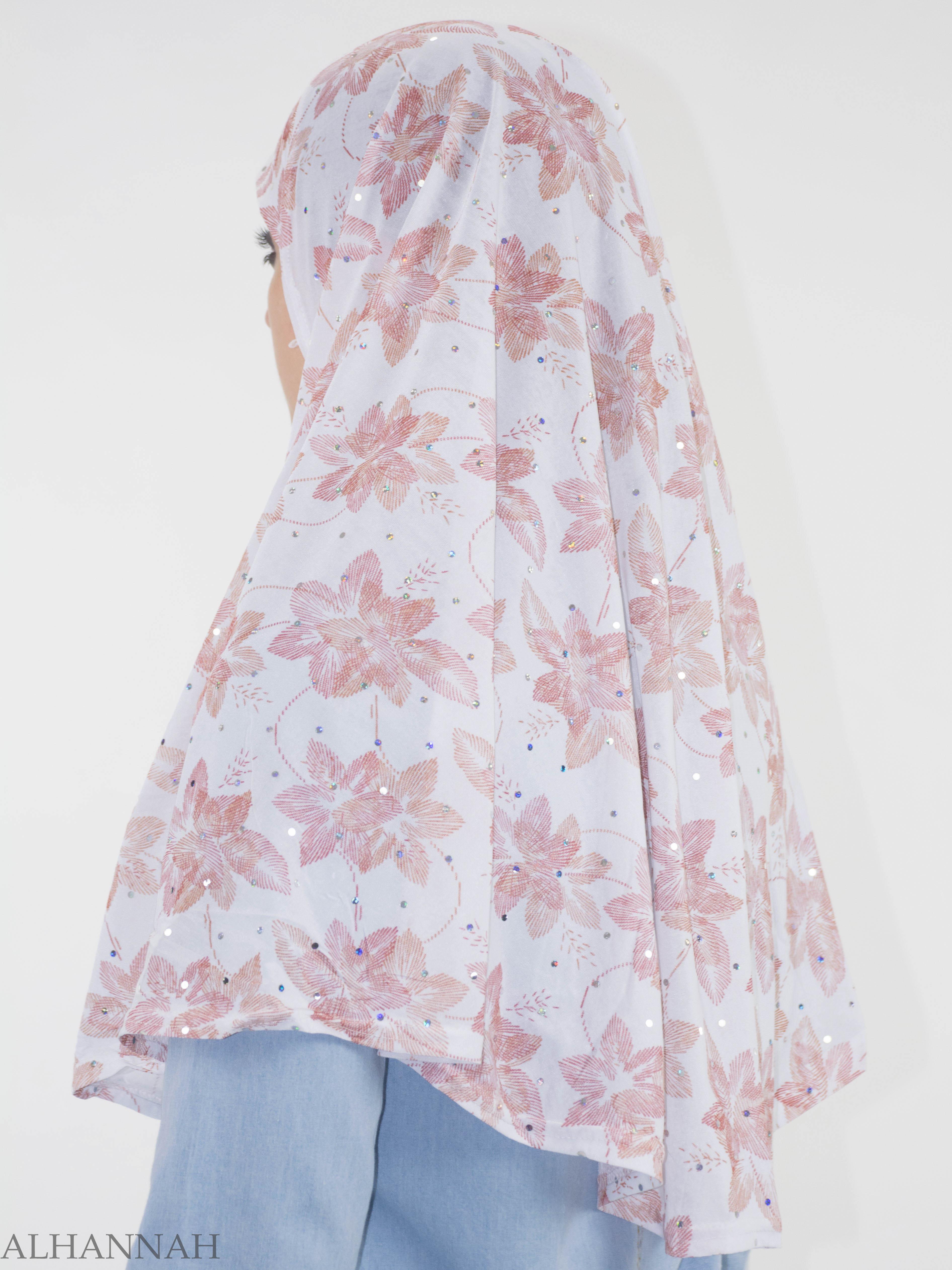 Striped Lily Glitter One-Piece Al-Amira Hijab HI2142 (1)