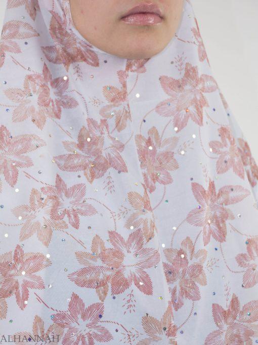 Striped Lily Glitter One-Piece Al-Amira Hijab HI2142 (4)
