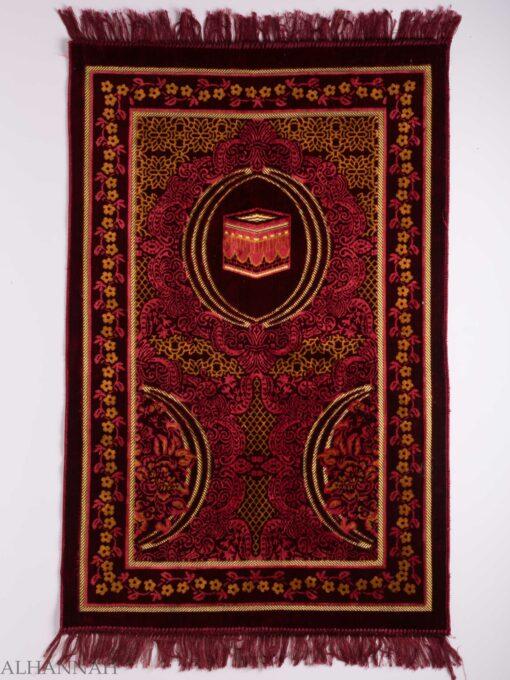 Turkish Prayer Rug Floral Kaaba Motiff ii1143