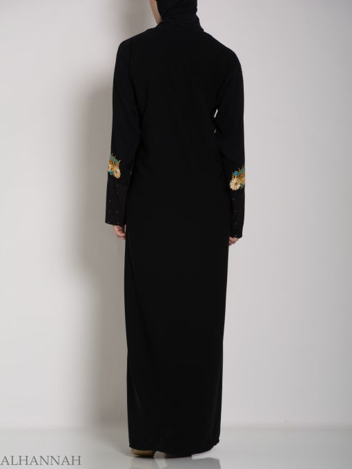 Authentic Khaliji Pull Over Abaya ab578 (1)