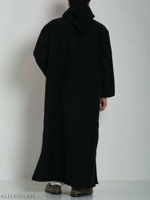Premium Wool blend Moroccan Hooded Thobe ME753 (4)