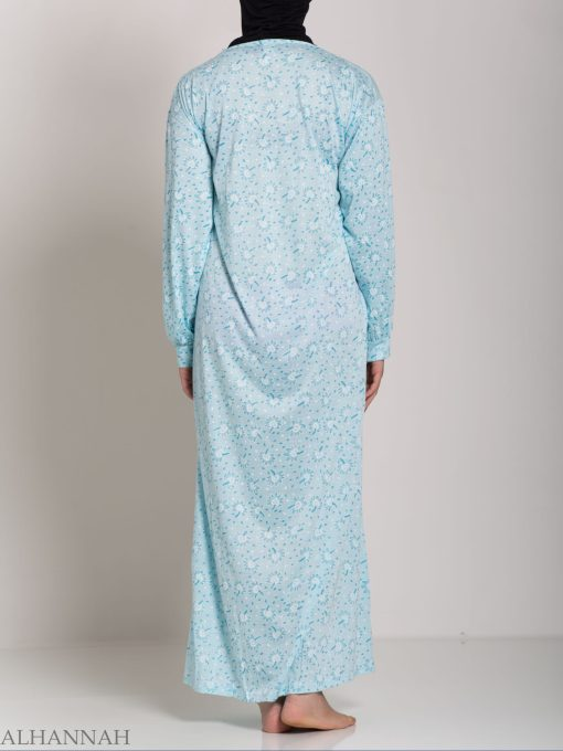 Speckled Dandelion Embroidered Cotton Nightgown NG108 (13)