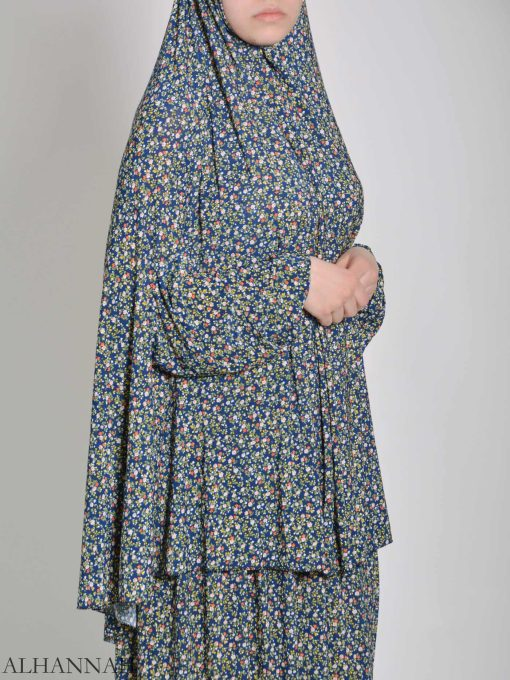Speckled Daisies Two Piece Prayer Outfit PS442 (1)