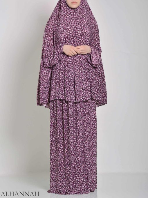 Speckled Daisies Two Piece Prayer Outfit PS442 (2)
