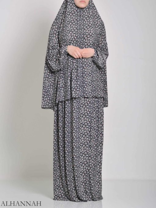 Speckled Daisies Two Piece Prayer Outfit PS442 (3)