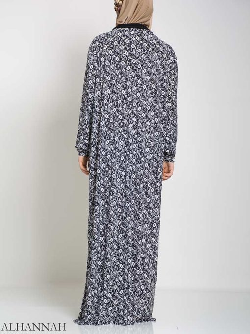 Abstract Floral Ribboned Prayer Outfit ps450 (2)