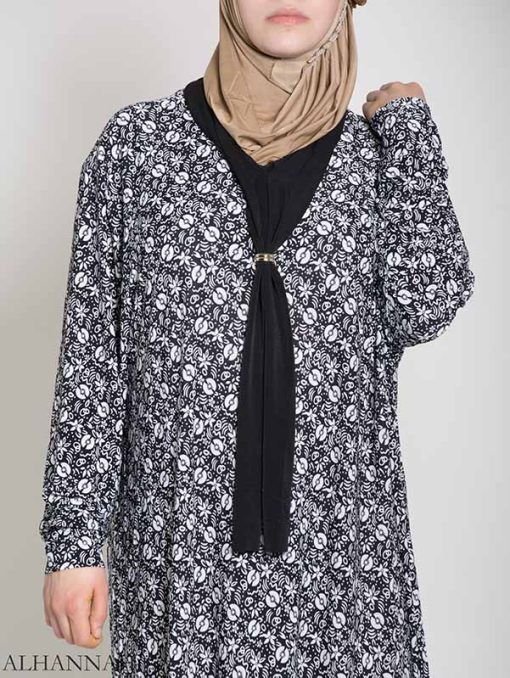Abstract Floral Ribboned Prayer Outfit ps450 (3)
