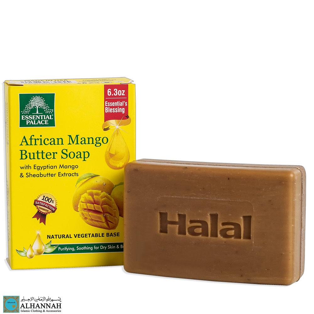 African Mango Butter Soap Halal