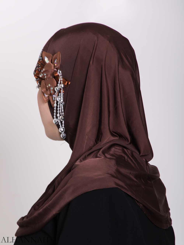 Beaded Sprouting-Flower One-Piece Al-Amira Hijab hi2160 (1)
