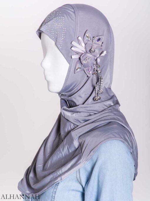 Beaded Sprouting-Flower One-Piece Al-Amira Hijab hi2160 (10)