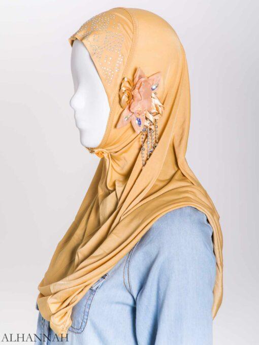 Beaded Sprouting-Flower One-Piece Al-Amira Hijab hi2160 (9)