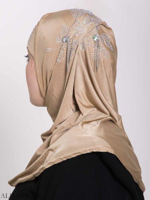 Clover Rhinestone One-Piece Al-Amira Hijab hi2158 (1)