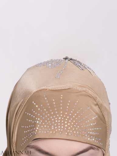 Clover Rhinestone One-Piece Al-Amira Hijab hi2158 (3)