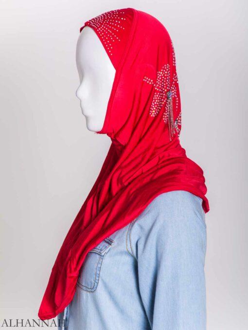 Clover Rhinestone One-Piece Al-Amira Hijab hi2158 (7)