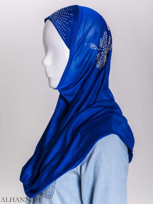 Clover Rhinestone One-Piece Al-Amira Hijab hi2158 (8)
