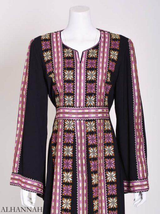 Embroidered Palestinian Fellaha Thobe th799 (6)
