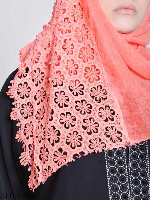 Floral Crochet Hijab (2)