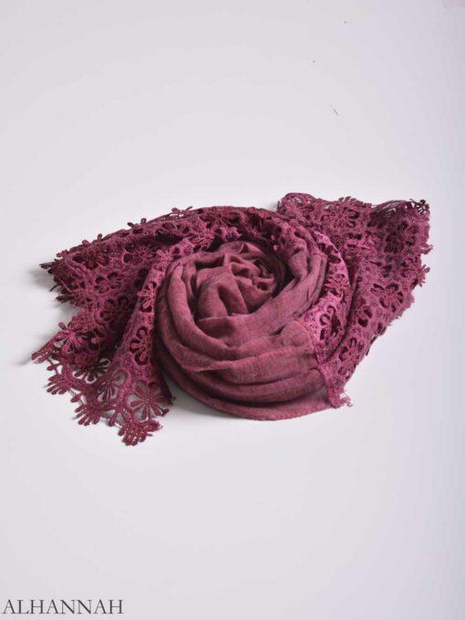 Floral Crochet Shayla Hijab hi2156 (10)
