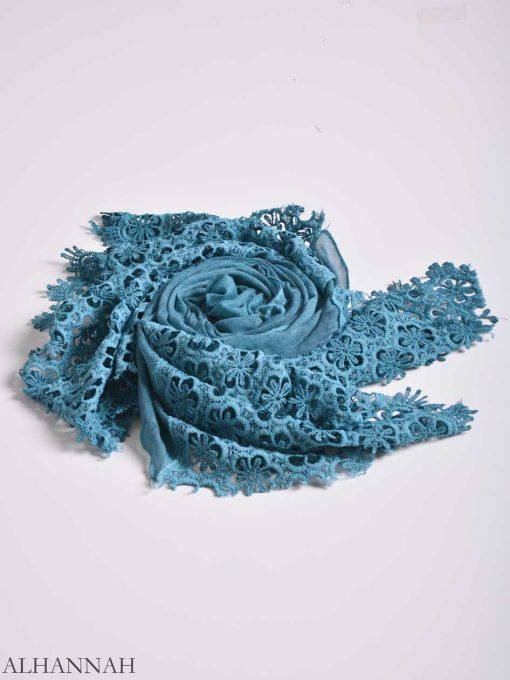 Floral Crochet Shayla Hijab hi2156 (2)