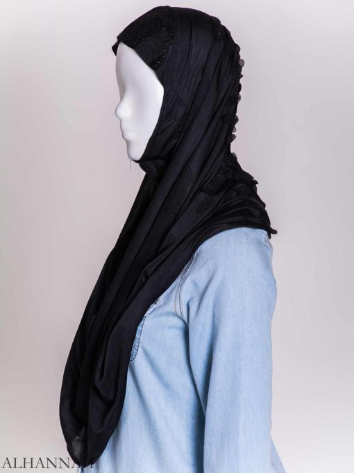 Scaled Rhinestone One-Piece Al-Amira Hijab hi2159 (12)