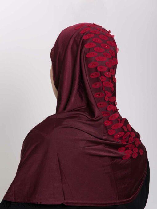 Scaled Rhinestone One-Piece Al-Amira Hijab hi2159 (2)
