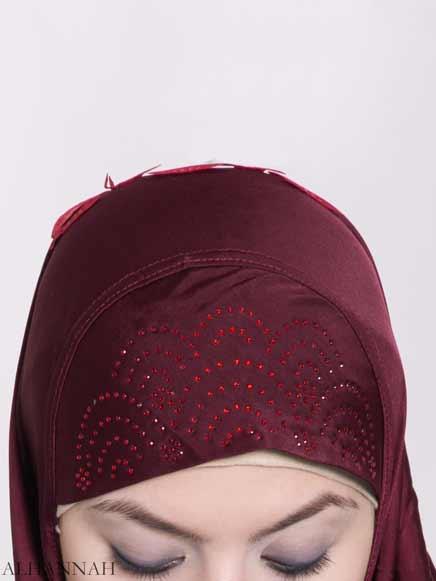 Scaled Rhinestone One-Piece Al-Amira Hijab hi2159 (3)