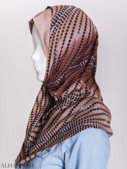Spiraling Polka Dots Two-Piece Al-Amira Hijab hi2156 (6)