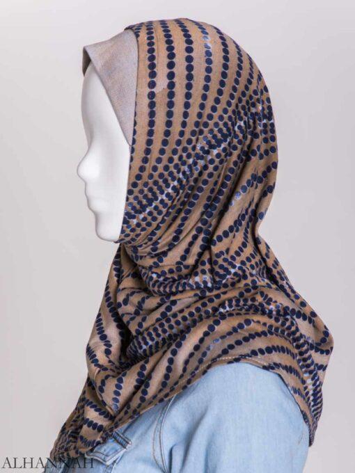 Spiraling Polka Dots Two-Piece Al-Amira Hijab hi2156 (7)